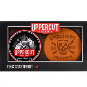 Uppercut Deluxe Tin & Coaster Set