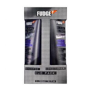 Fudge Clean Blonde Violet Shampoo 300ml & Conditioner 300ml Duo