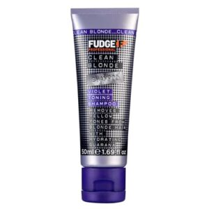 Fudge Clean Blonde Violet Shampoo 50ml Travel Size