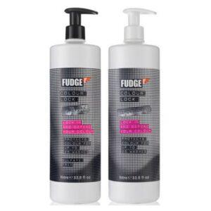 Fudge Colour Lock Shampoo 1000ml & Conditioner 1000ml Duo