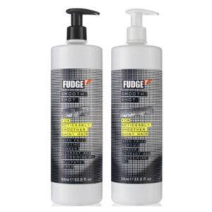 Fudge Smooth Shot Shampoo 1000ml & Conditioner 1000ml Duo