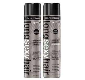 Sexy Hair Long Hair Shampoo 300ml & Conditioner 300ml Duo