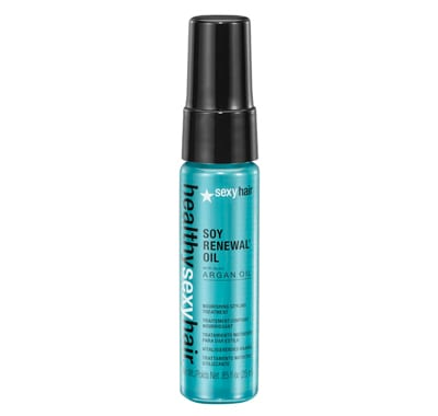 Sexy Hair Soy Renewal Oil Nourishing Styling Treatment Travel 25ml