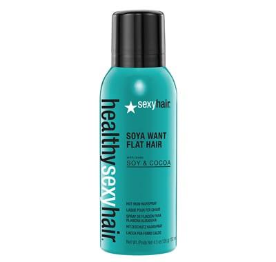 Sexy Hair Soya Want Flat Hair Flat Iron Hairspray 150ml