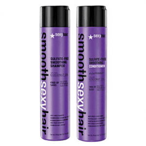 Sexy Hair Sulfate Free Smoothing Shampoo 300ml & Conditioner 300ml Duo