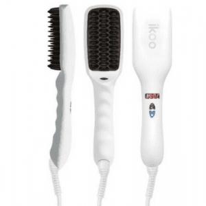 ikoo E-Styler Hair Straightening Brush White