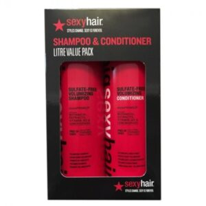 Sexy Hair Big Sexy Hair Volumizing Shampoo 1000ml & Conditioner 1000ml Duo