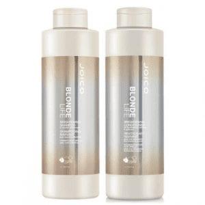 Joico Blonde Life Brightening & Illuminating Shampoo 1000ml & Conditioner 1000ml Duo