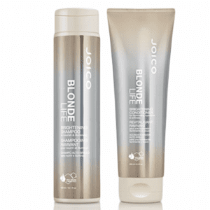 Joico Blonde Life Brightening & Illuminating Shampoo 300ml & Conditioner 250ml Duo