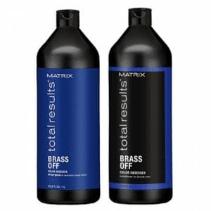 Matrix Total Results Brass Off Shampoo 1000ml & Conditioner 1000ml Duo