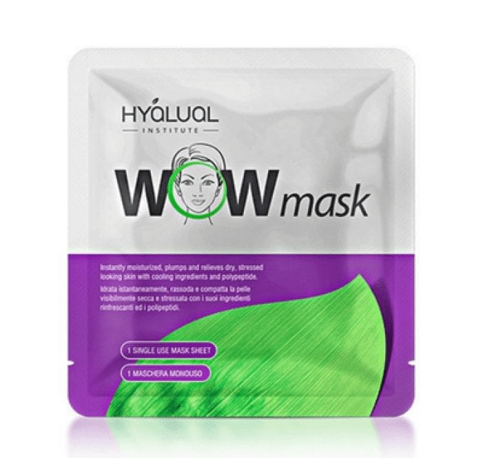 Hyalual WOW Bio-peptide Aqua Gel Sheet Mask