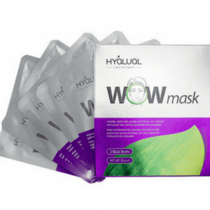 Hyalual WOW Bio-peptide Aqua Gel Sheet Mask (Pack of 5)