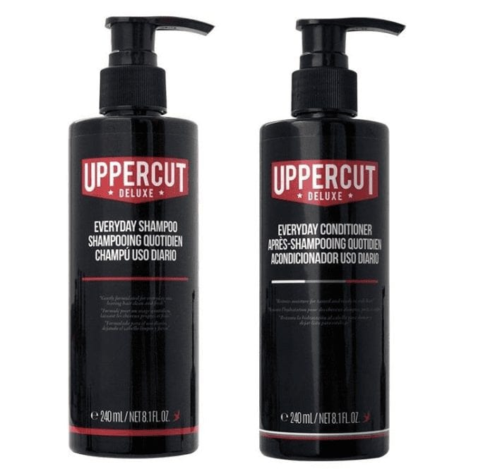 Uppercut Deluxe Everyday Shampoo & Conditioner Set 240ml
