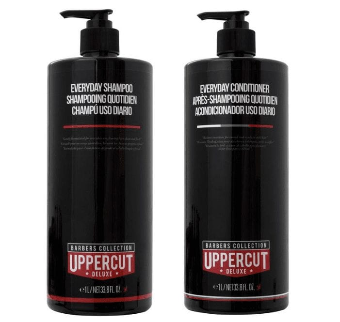 Uppercut Deluxe Everyday Shampoo and Conditioner Set 1000ml