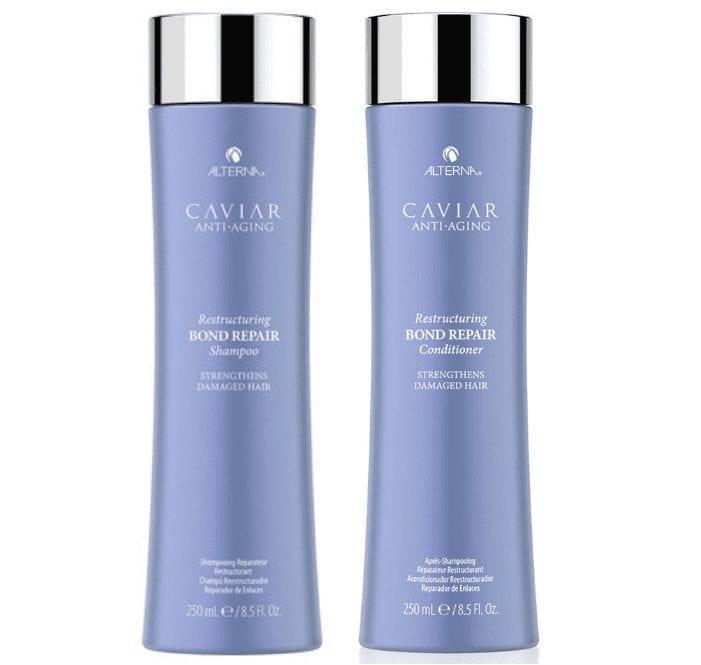Alterna Caviar Restructuring Bond Repair Shampoo & Conditioner Set 250ml