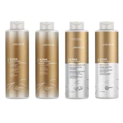 Joico K-PAK 4 Step Hair Repair Treatment System 1 Litre