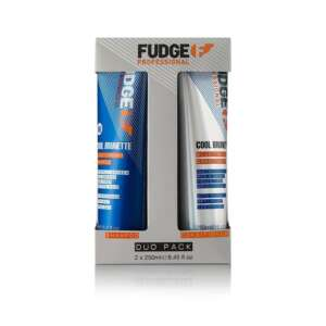 Fudge Cool Brunette Shampoo and Conditioner Duo 250ml Gift Pack