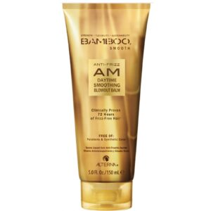 Alterna Bamboo Smooth Anti-Frizz AM Daytime Smoothing Blowout Balm 150ml
