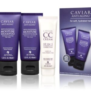 Alterna Caviar Moisture Box Travel Kit Trio