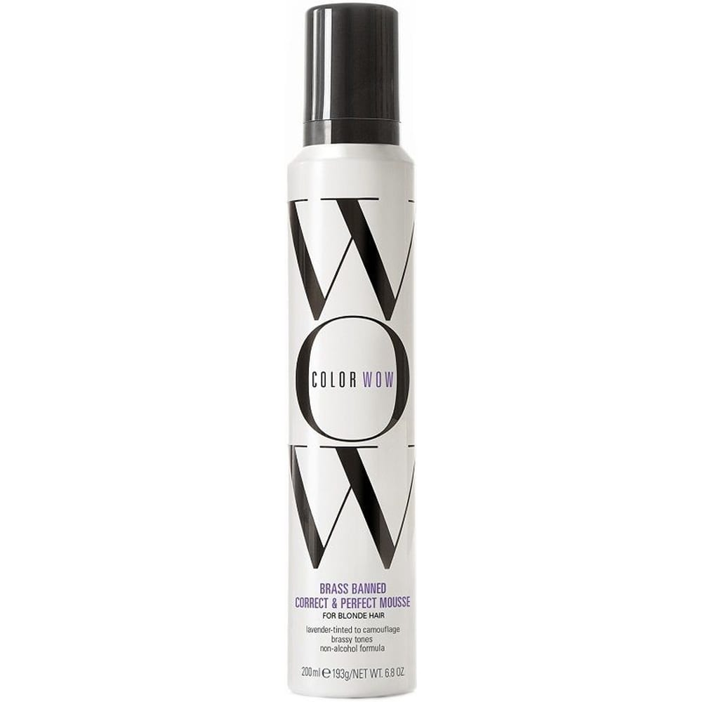COLOR WOW Brass Banned Mousse Blonde Hair 200ml