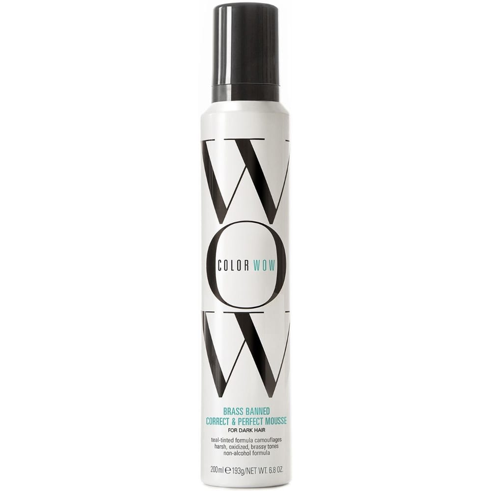 COLOR WOW Brass Banned Mousse Dark Hair 200ml