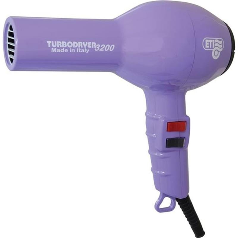 ETI Turbo 2000 Hairdryer - Violet