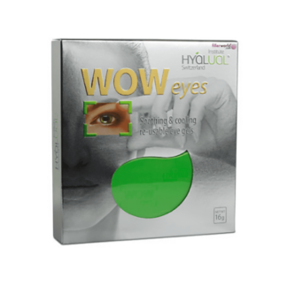HyaLual WOW Eyes Hyaluronic Acid Infused Reusable Gel Mask for the Eyes