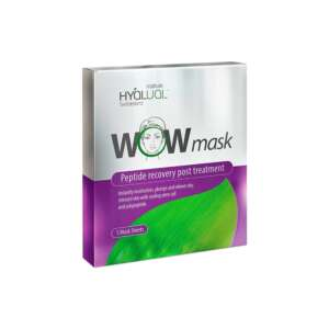 HyaLual WOW Mask Sheets X5 - Post-Treatment Mask for Sensitive Dehydrated Skin