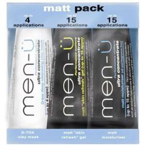 Men-U Matt Pack - 3 X 15ml