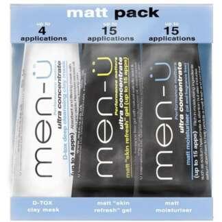 Men-U Matt Pack – 3 X