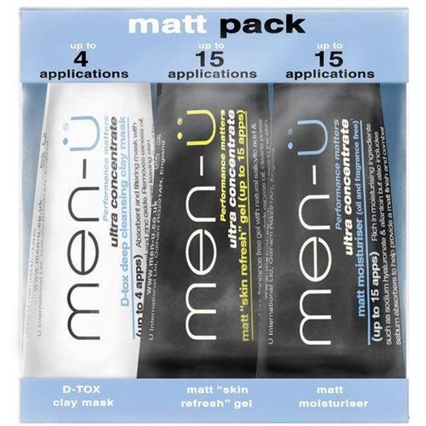 Men-U Matt Pack - 3 X 15ml