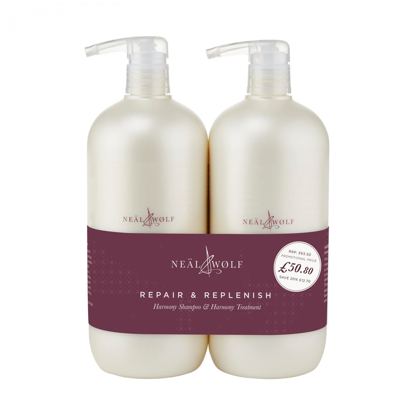 Neal And Wolf Repair And Replenish Backwash Duo