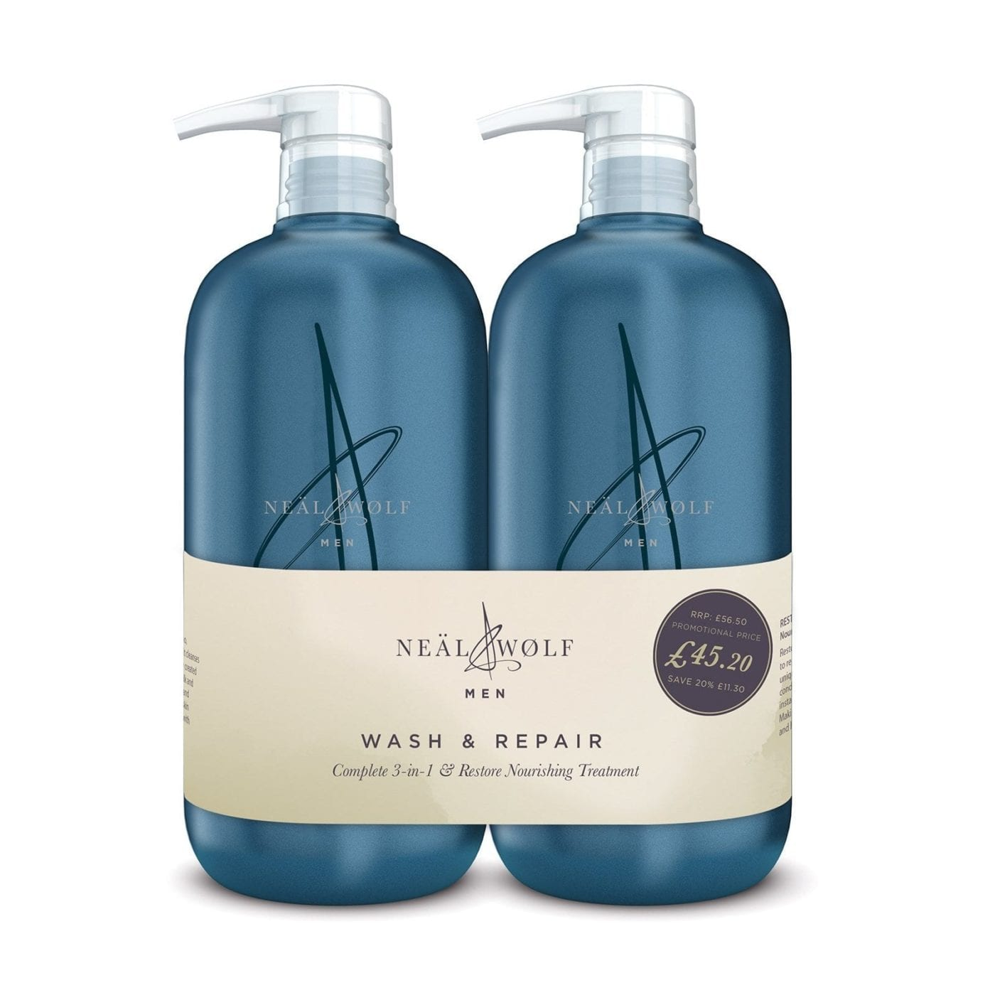 Neal And Wolf Wash And Repair Backwash Duo