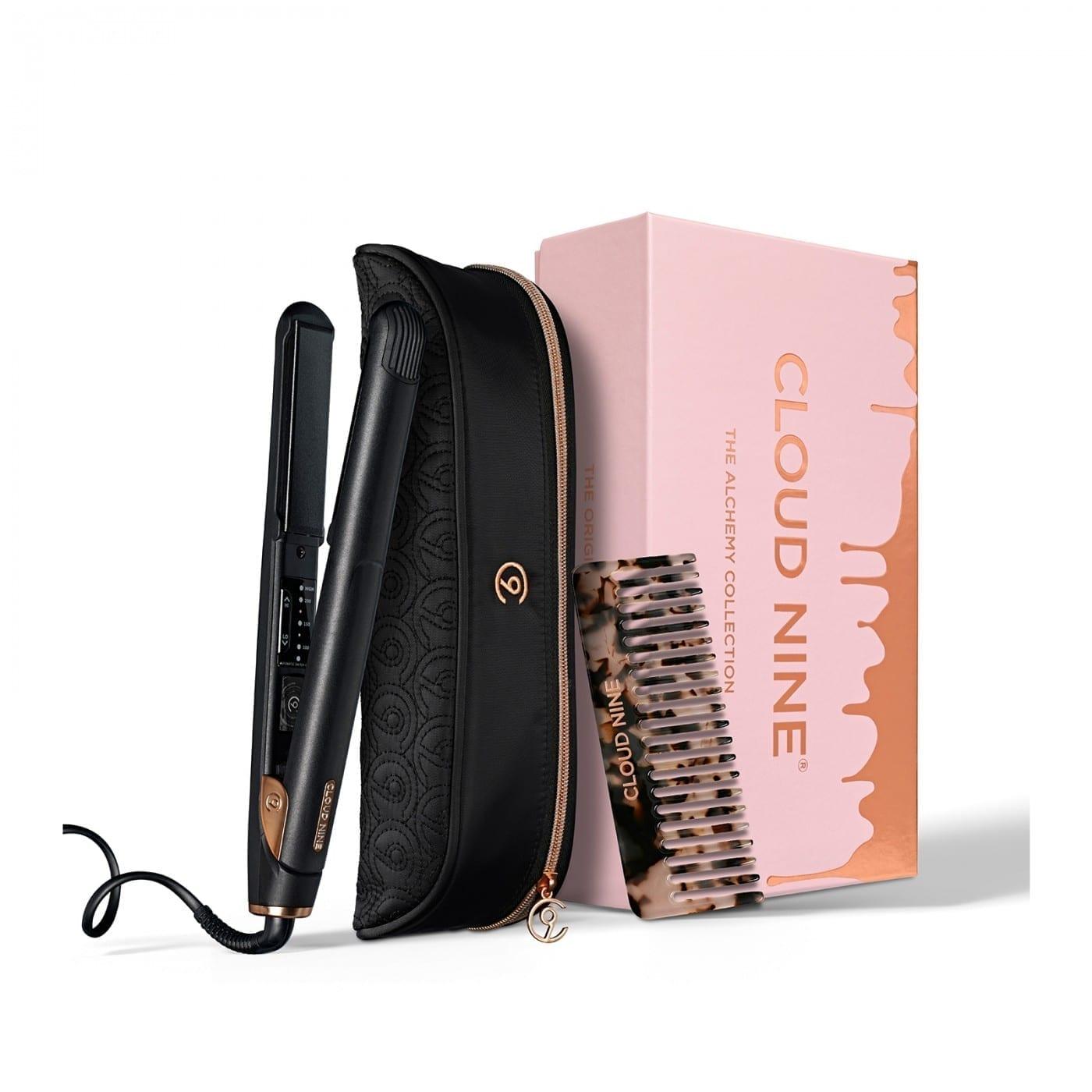 Cloud Nine The Original Iron Alchemy Gift Set 2019 + FREE Luxury Texture Comb