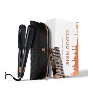 Cloud Nine The Wide Iron Alchemy Gift Set 2019 + FREE Luxury Texture Comb