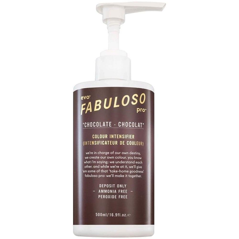 Evo Fabuloso Pro Colour Intensifier Chocolate 500ml