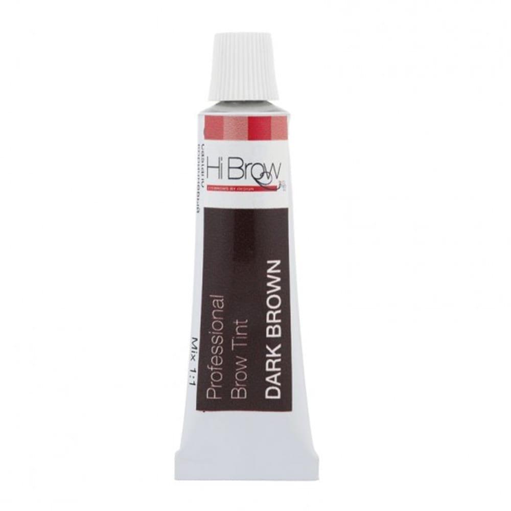Hi Brow Professional Brow Tint Dark Brown 15ml