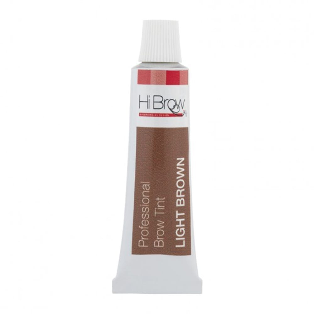 Hi Brow Professional Brow Tint Light Brown 15ml