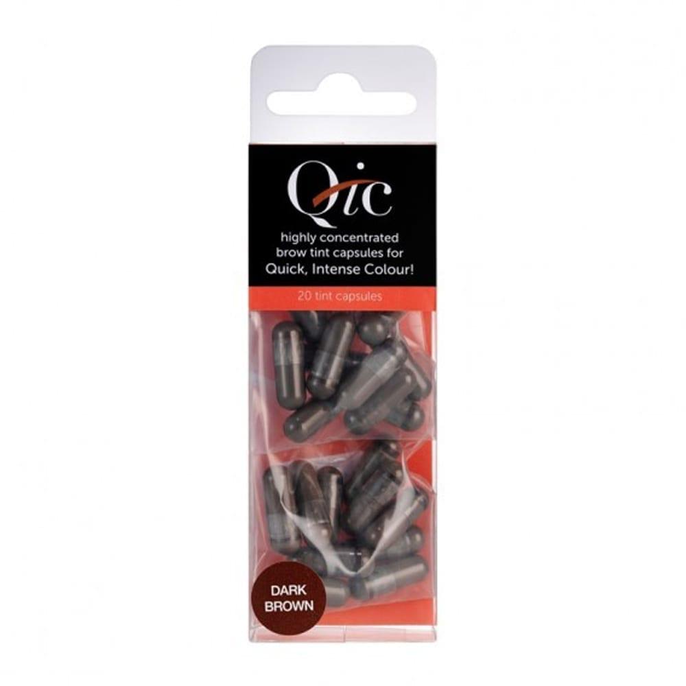 Hi Brow QIC Brow Tint Capsules Dark Brown (Pack Of 20)