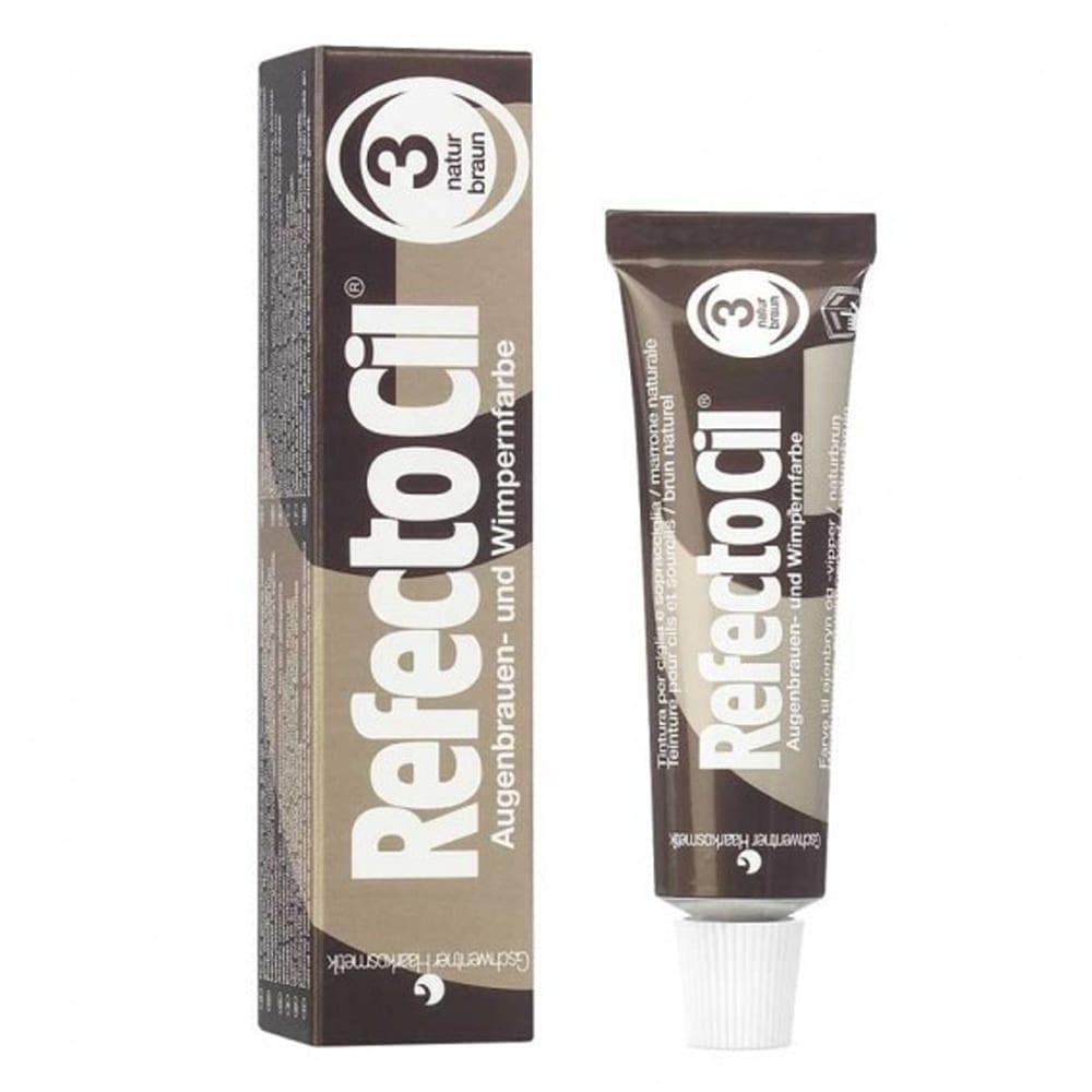 RefectoCil Lash And Brow Tint 3. Natural Brown 15ml