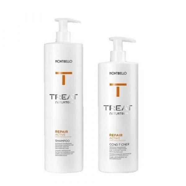 Montibello Treat Repair Shampoo 1000ml & Conditioner 750ml