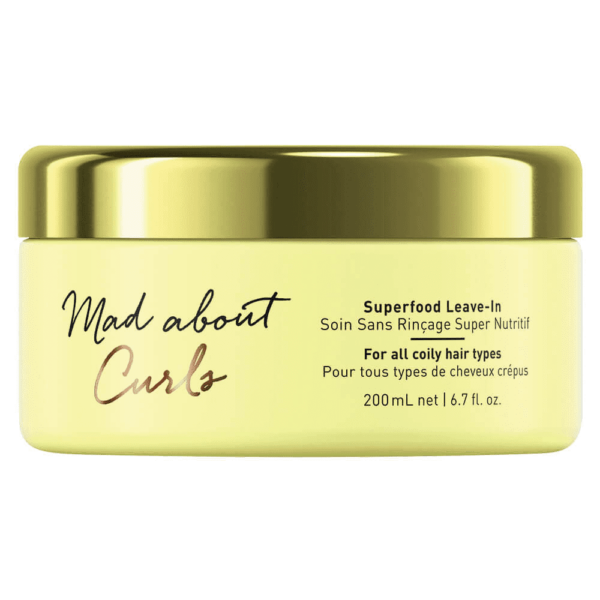 Schwarzkopf Professional Mad About Curls Superfood Leave-In Conditioner,