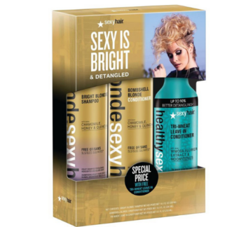 : Blonde Sexyhair Care Trio 2020