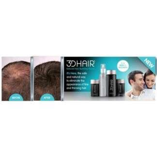 3D Hair Dark Brown 10g